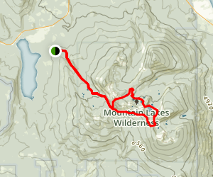 Mountain Lakes Loop Trail Map