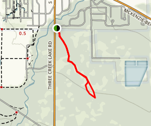 Peterson Ridge Trail Map