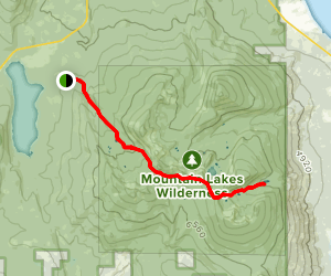 South Pass Lake Trail Map