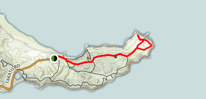 North Coast Track Map