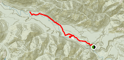 Lower South Fork Skokomish Trail Map