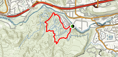 Tom Cooke Trail  Map