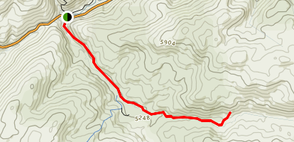 Cascades Trail Map
