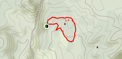 Abby Caves Loop Map