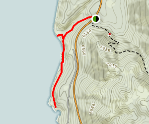 Chimney Beach Trail Map