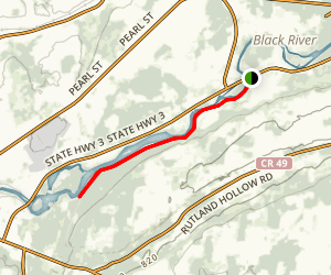 Black River Trail Map