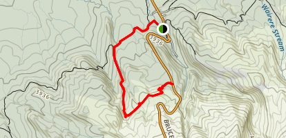 Lower Silicia Springs Track Map
