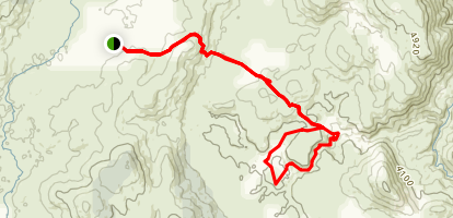 Nichols Gorge Walk Map