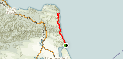 Mangawhai Cliffs Walkway Map