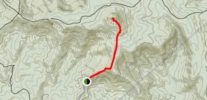 Pigeon House Walking Track Map