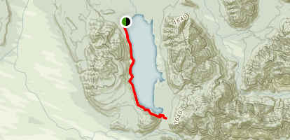 Lake Kaniere Walkway Map