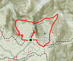 Bungonia Gorge Loop Map