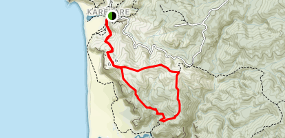 Zion Hill to Zion Ridge Track Loop {CLOSED} Map