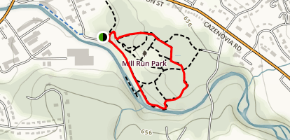 Old Dam Trail Map