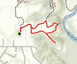 River Lookout Loop Map