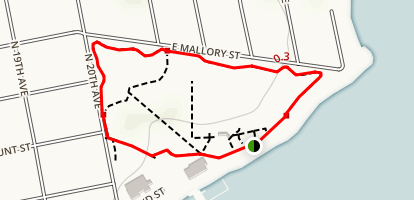 Bayview Park Loop Map