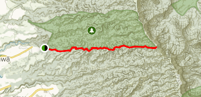 Schofield Waikane Trail Map