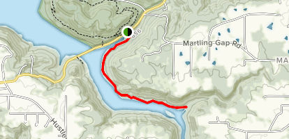 Cutchenmine Trail Map