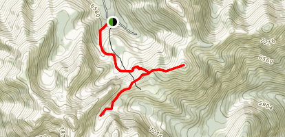 Pedley Pass Trail Map