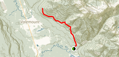 Selwyn Traverse Trail Map
