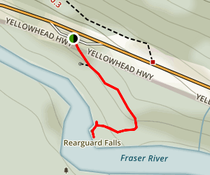 Rearguard Falls Trail Map