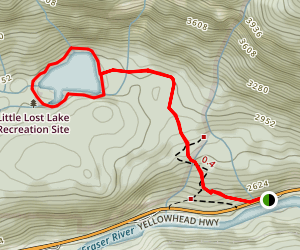 Little Lost Lake Trail Map