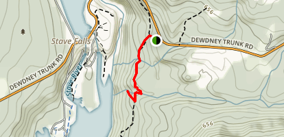 Steelhead Falls Trail Map