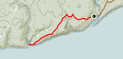 Goose River Trail Map