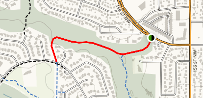Patricia Ravine - Rio Terrace to Wolf Willow Trail Map