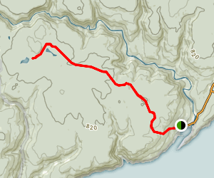 Marven Lake Trail  Map