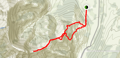 Yarrow Ridge Trail Map