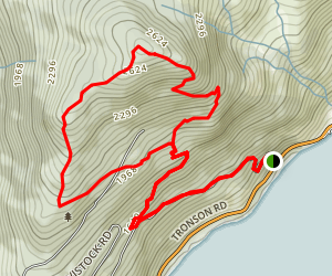 Summit Ridge to Antenna Loop Trail Map