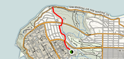Sword Fern Trail Map