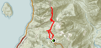 St. Mark's Summit Trail Map