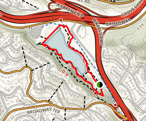 Lake Temescal Loop Trail Map