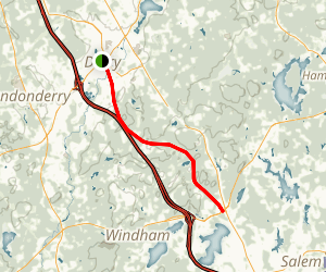 Windham Rail Trail Map