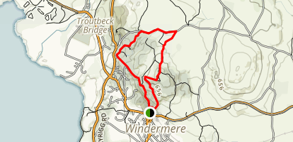 Orrest Head Loop Map