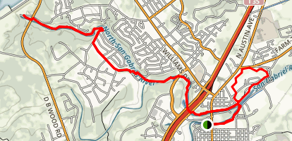San Gabriel Trail Map