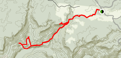 Virgin Falls Trail Map