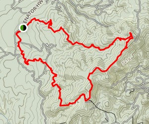 Groom Creek Loop Trail Map