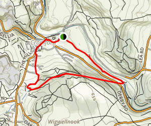 High Peak Trail Loop Map