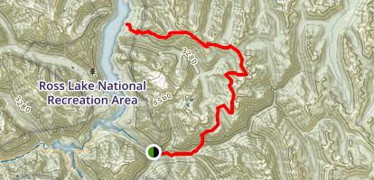 Devils Dome Trail Map