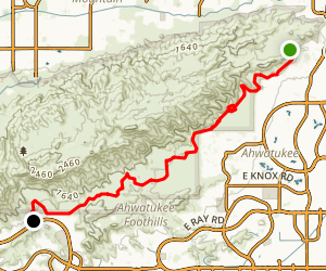 Desert Classic Trail Map