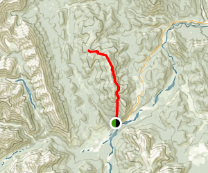 Powderface Ridge Trail Map