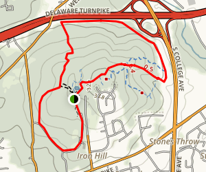 Iron Hill Park Map