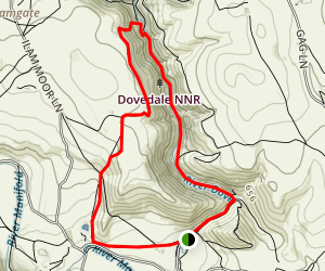Dovedale NNR Loop Map