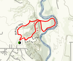 Riparian Loop Trail Map