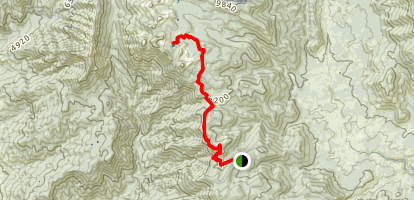 Maggie Lakes Trail Map