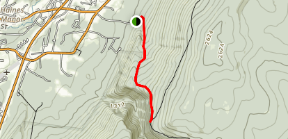 Prospect Rock Trail Map