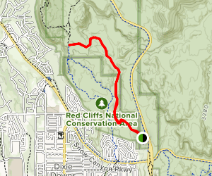 Beck Hill Trail Map